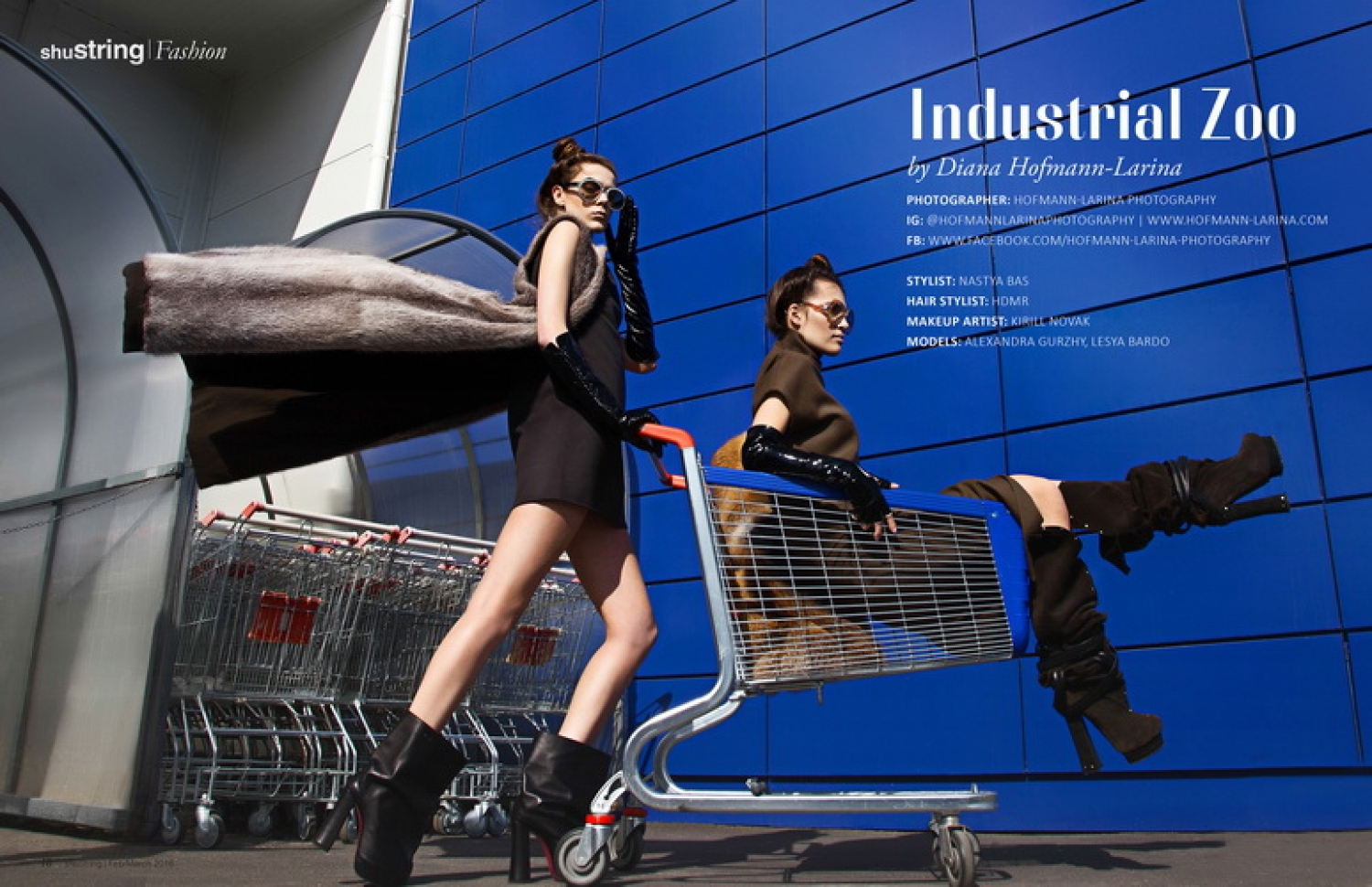 Industrial Zoo for ShuString Magazine